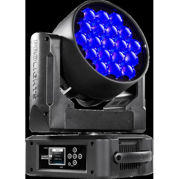 ProLights DIAMOND 19CC LED-washer вращающаяся голова 19x15W