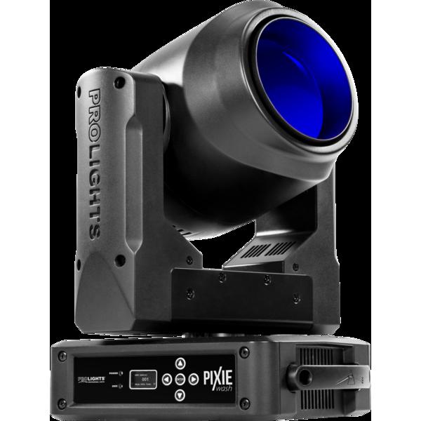 ProLights PIXIEWASH вращающаяся голова, 1x60W RGBW Osram Ostar LED
