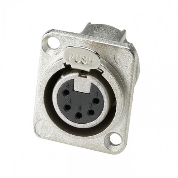 Adam Hall 7892 Разъем панельный тип-D XLR 5-pin (розетка)