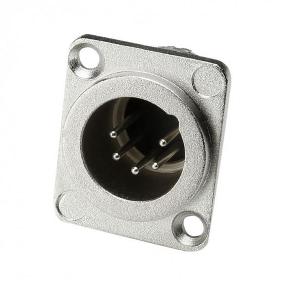Adam Hall 7893 Разъем панельный тип-D XLR 5-pin (вилка)