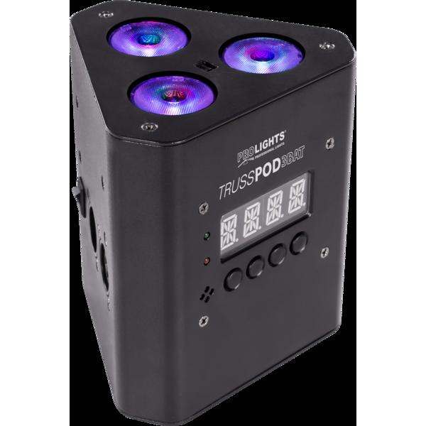 MUSIC & LIGHTS TRUSSPOD3BAT беспроводной световой прибор 3 x 3 W