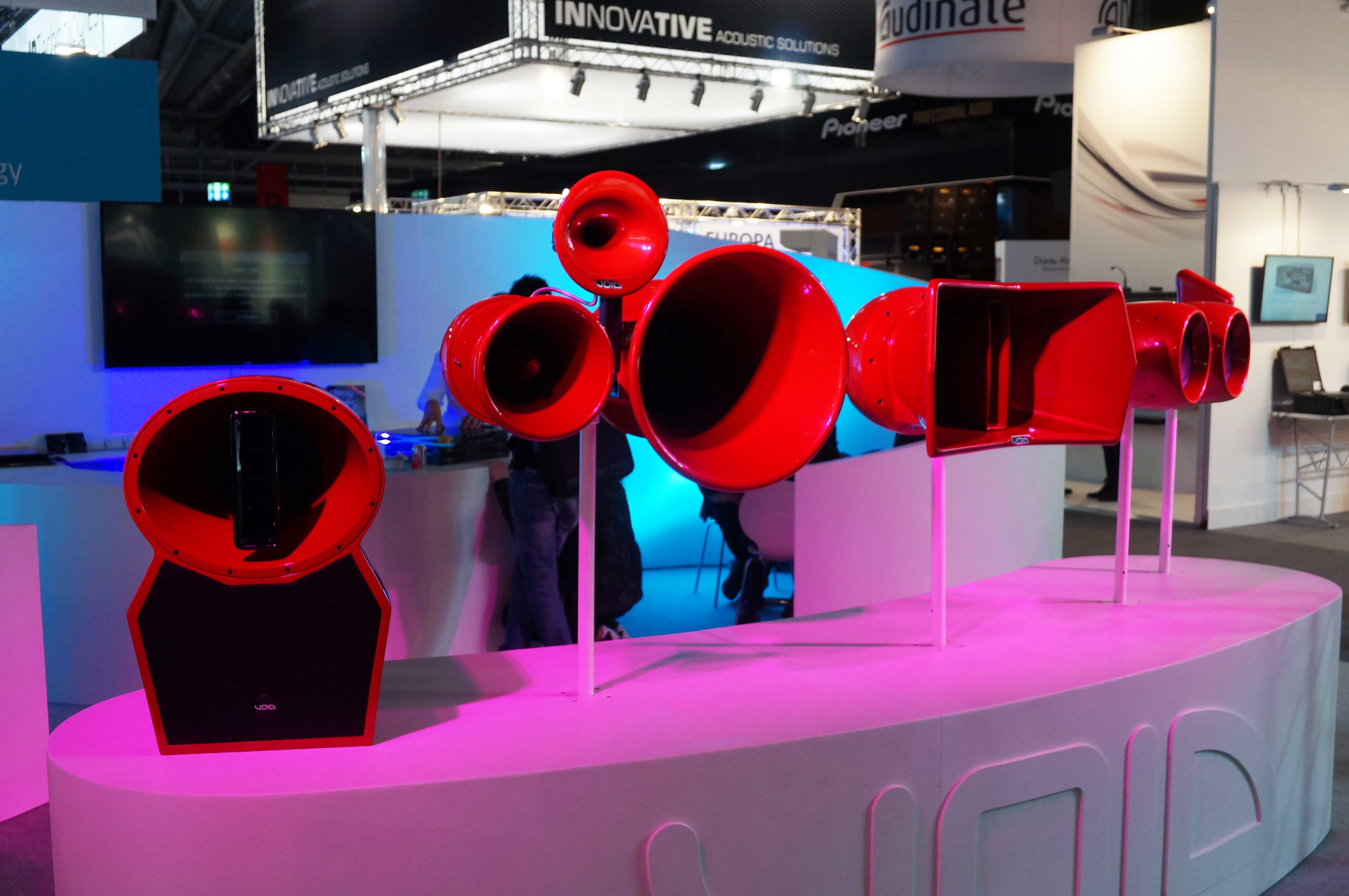 Iberi Air Moition Air Ten Void Prolights and Sound NAMM 2018